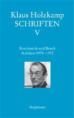 Edición alemana de los Escritos de Klaus Holskamp